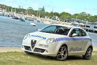 Alfa Romeo MiTo Police 3 Aussie Cops get Alfa Romeo MiTo Police Car Photos