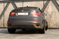 BMW X6 Interceptor 15 Russias Met R Creates the BMW X6 Interceptor Photos