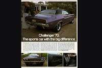 1970+Dodge+Challenger+Ad Dodge Challenger 40 Years in Pictures Photos