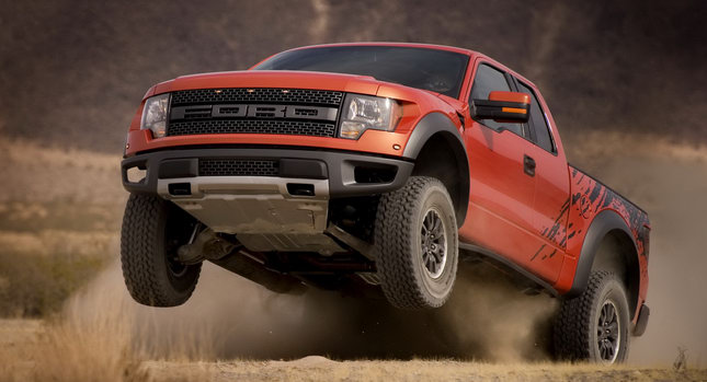 Ford F 150 Raptor SVT 001 Ford Receives Over 3,000 Orders for 411HP F 150 Raptor 6.2 Photos