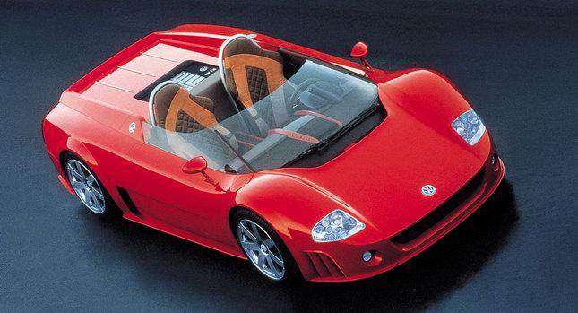 1998 VW W12 Roadster 0 Volkswagen Group to Buy Italdesign Giugiaro Photos