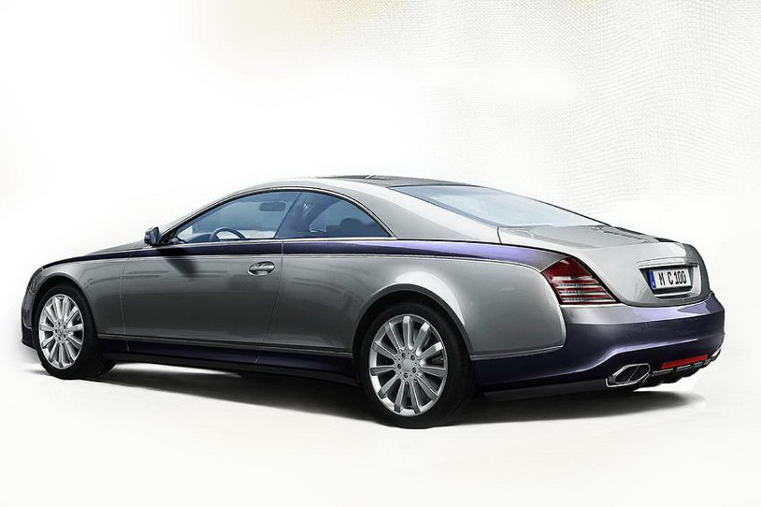 Maybach Coupe 57s Official Pictures Of Limited Production