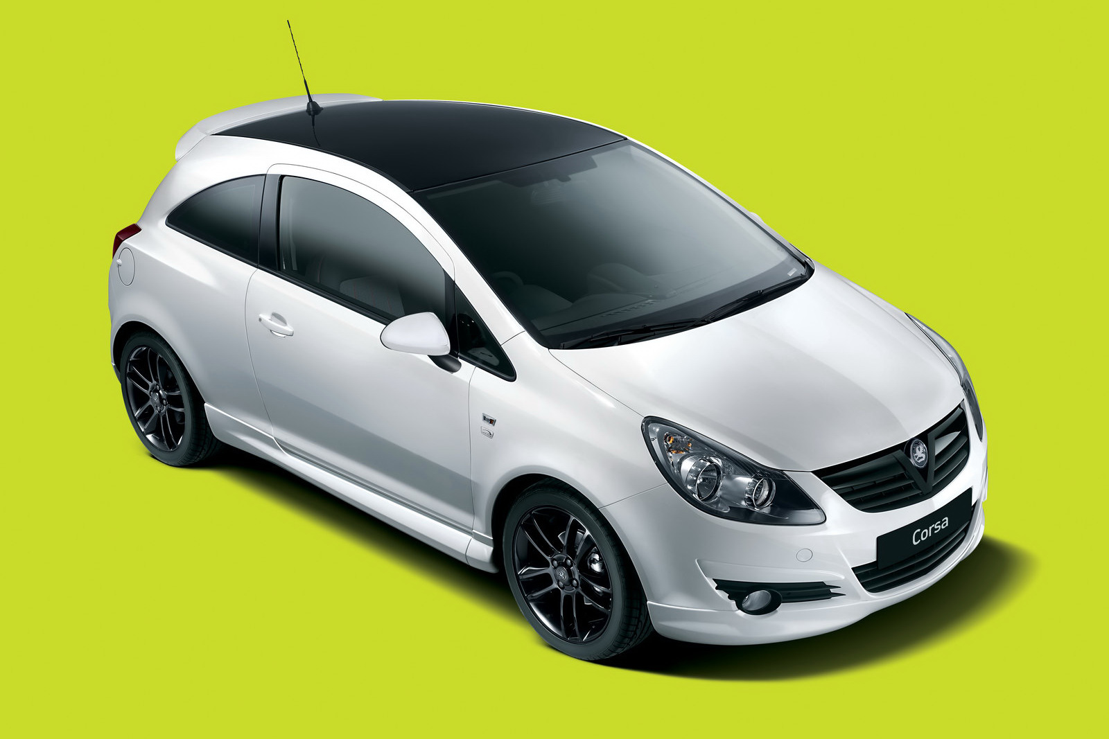 black white limited edition part ii vauxhall corsa. Black Bedroom Furniture Sets. Home Design Ideas