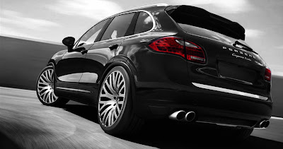 large1 Project Kahn Readying Tuning Mods for New Porsche Cayenne Turbo Photos