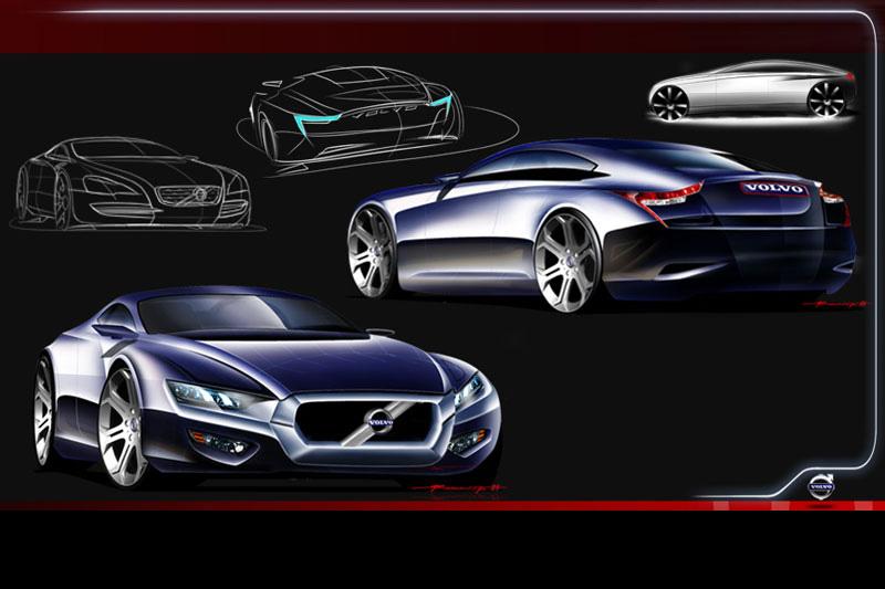 volvo sc sports sedan concept  hot carscoops