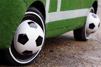 Hyundai i10 Football Cars 3 Hyundai Kicks Off Countdown to 2010 World Cup with i10 Football Themed Cars Photos
