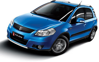 2010 Suzuki SX4 11 2010 Suzuki SX4 and SX4 Sedan Facelift Revealed in China