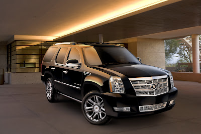 Cadillac 2 Cadillac Escalade Hybrid gets the Platinum Touch Photos
