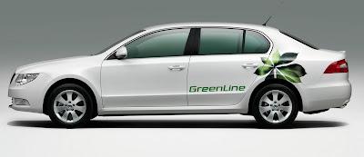 Skoda GreenLine 1 Skodas Superb Greenline becomes the Czech Republic's official EU Presidency vehicle
