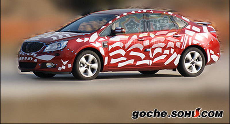 Buick Compact Sedan 0 Buicks Premium Compact Sedan Spied with Less Camouflage in China Photos