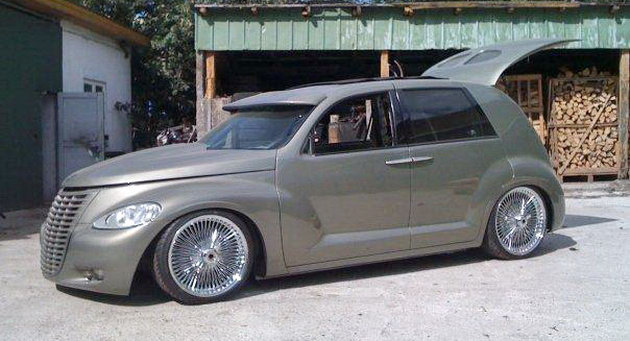 Chrysler Groozer Customized Pt Cruiser With Suicide Doors