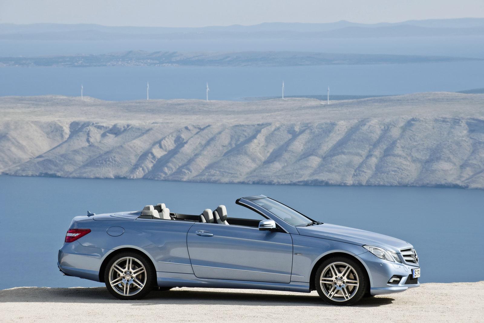 2010 mercedes benz e class convertible officially revealed for Mercedes benz convertible 2010