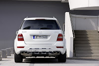 2011 Mercedes ML63 AMG 9 2011 Mercedes Benz ML63 AMG Receives Minor Cosmetic Updates   Photos