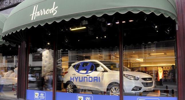 Hyundai Harrods 0  Hyundai Makes it to Harrods Photos