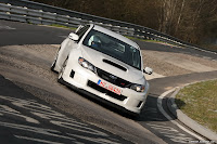 2011 Subaru Impreza WRX STI Test Car Laps the Nurburgring in 7:55.0 , Faster than Panamera and CTS V   photos