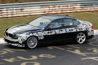 2011 BMW M5 7 SPIED 2011 BMW M5 Super Saloon Sheds More Camouflage Photos