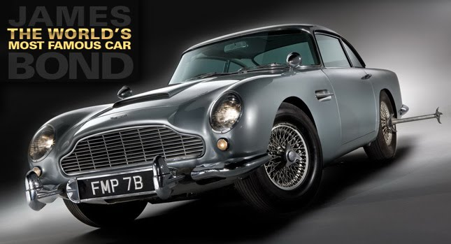 James Bond 1964 Aston Martin DB5 001+copy James Bonds Original 007 Aston Martin DB5 up for Sale Photos