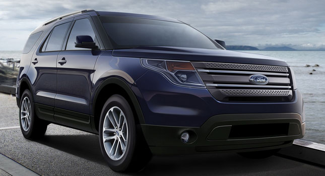 2012 Explorer Ford 0 2012 Ford Explorer Illustration the Real Deal Nope its a CGI by Josh Byrnes Photos