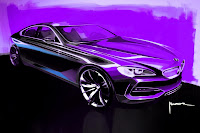 BMW Gran Coupe Sedan 14  BMW Gran Coupé Concept Coming with 6 Series Badge in 2012 Photos