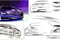 BMW Gran Coupe Sedan 17  BMW Gran Coupé Concept Coming with 6 Series Badge in 2012 Photos