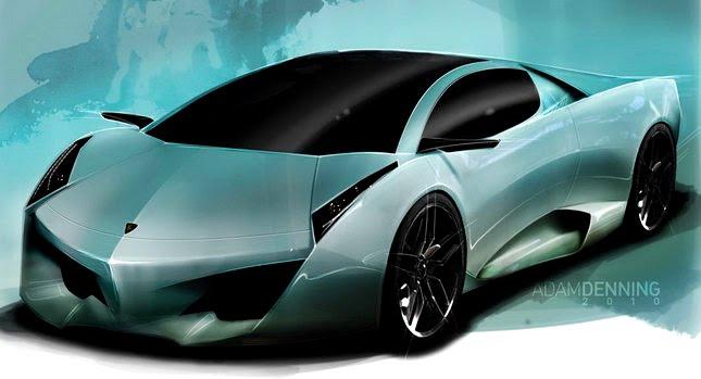 Lamborghini Navarra Concept 002 mborghini Navarra Concept Study Penned by Lockheed Martin Designer Photos