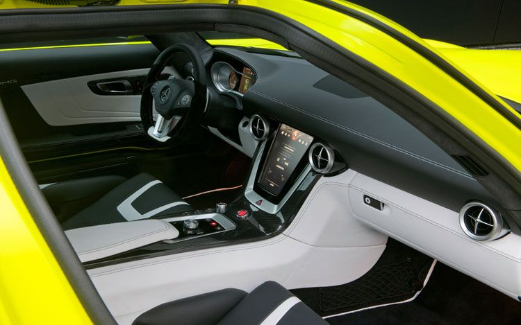 Mercedes Benz Sls Amg E Cell Prototype The All Electric