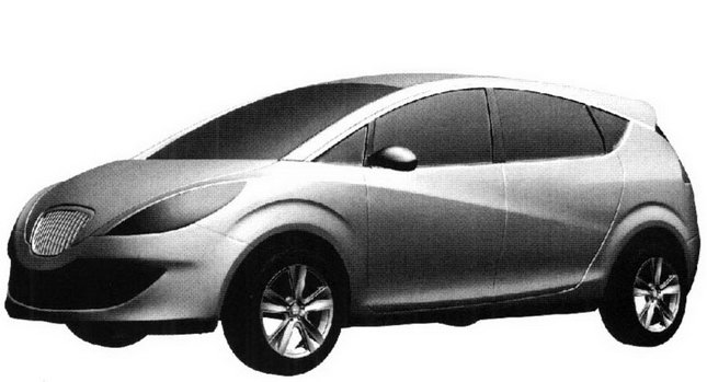 fake drawings car reviews redesigned seat altea minivan drawings real