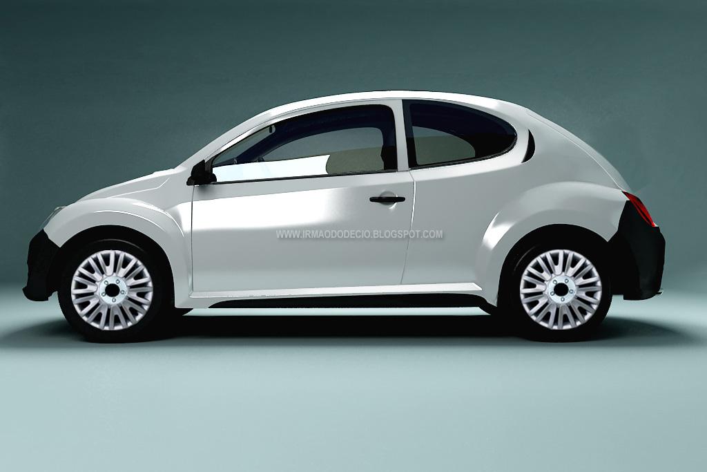Retro Take for 2012 New VW Beetle Design Study