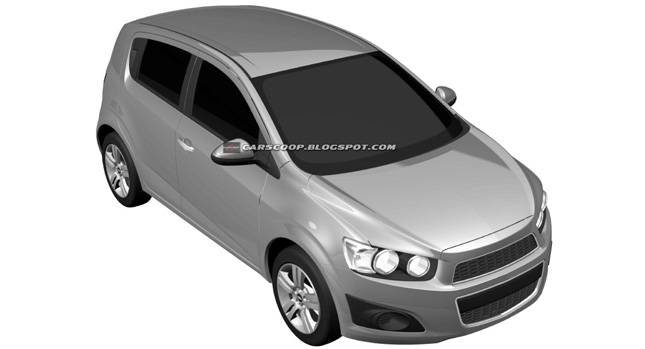 2011 Chevrolet Aveo Hatchback 4 2012 Chevrolet Aveo Sedan and Hatchback Official Design Patents