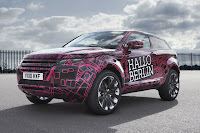 2012 Range Rover Evoque Prototypes 21 Land Rover raps Evoque Prototypes in Funky Camouflage and Hits the StreetsWraps Evoque Prototypes in Funky Camouflage and Hits the Streets