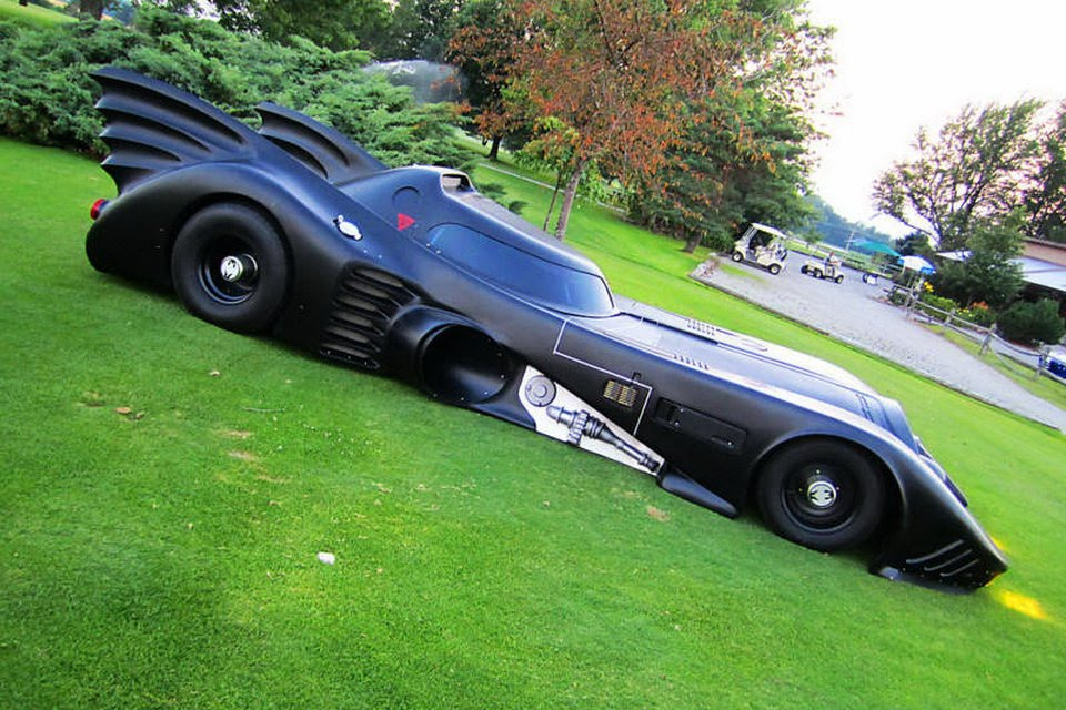 All About Cars Street Legal Batmobile Replica From Tim
