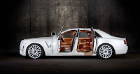 Mansory RR Ghost White 4 New Mansory Rolls Royce Ghost Skips on the Gold Flakes