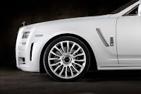 Mansory RR Ghost White 7 New Mansory Rolls Royce Ghost Skips on the Gold Flakes