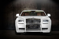 Mansory RR Ghost White 5 New Mansory Rolls Royce Ghost Skips on the Gold Flakes