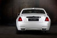 Mansory RR Ghost White 6 New Mansory Rolls Royce Ghost Skips on the Gold Flakes