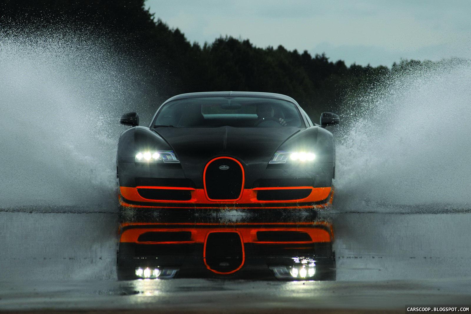 PS Bugatti Veyron Super Sport Topspeed kmh