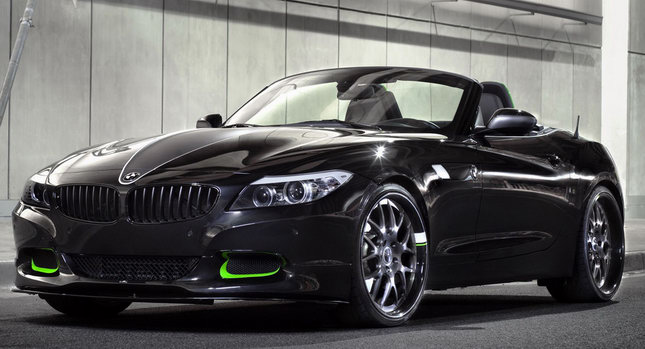 Bmw Z4 400hp Custom Build Inspired By Nike S Slingshot