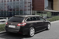 2011 Peugeot 508 3 New Peugeot 508 Sedan and SW First Official Photos
