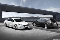 2011 Peugeot 508 1 New Peugeot 508 Officially Unveiled gets HYbrid4 Variant with 200HP and AWD