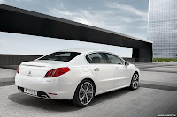 2011 Peugeot 508 10 New Peugeot 508 Officially Unveiled gets HYbrid4 Variant with 200HP and AWD
