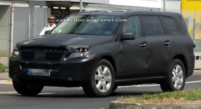 SPIED: 2013 Mercedes-Benz GL-Class SUV - Carscoop