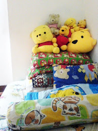 my sweet bed!!!