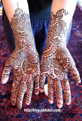 Latest Bridal Arabic Mehandi Designs