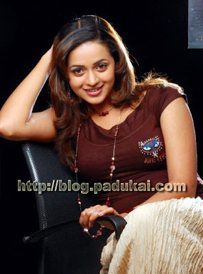 Movie Actress Bhavana Stylish Smiling photo