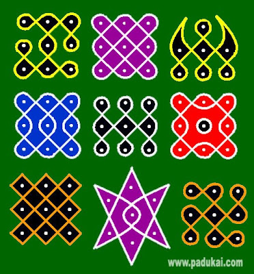 Very Simple Wonderful Kolam Designs
