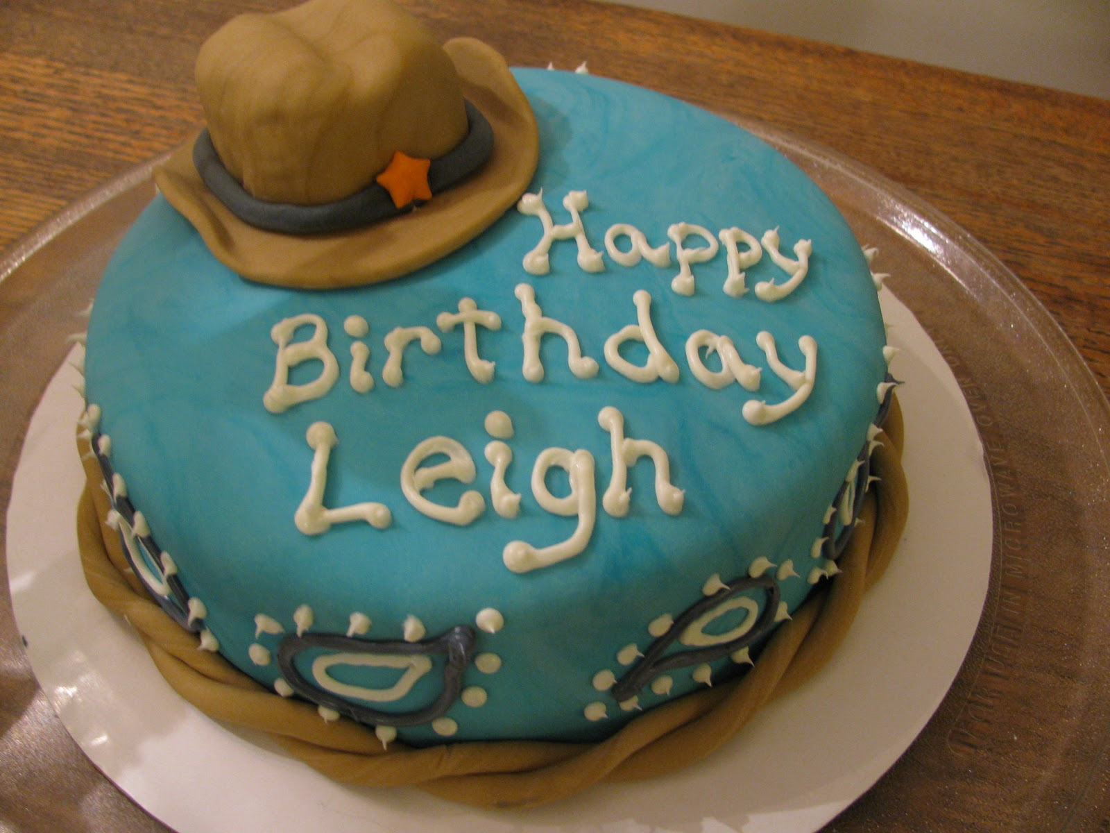 Katie Cakes Happy Birthday Leigh