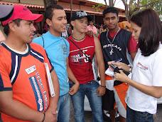 Estudiantes auspician Mercales en el Vice rectorado