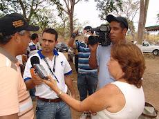 Medios de comunicación asistieron a compartir unellista