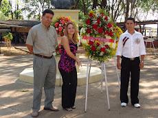 SUCTRABO participó en Ofrenda Floral