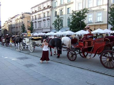 Horse-drawn cabs